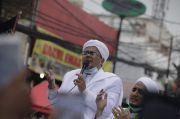 Usai Habib Rizieq Shihab Pidato, Ribuan Umat Islam Membubarkan Diri secara Tertib