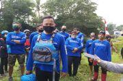 Bima Arya Ekspedisi Sungai Ciliwung dari Bogor ke Jakarta Pakai Perahu Karet