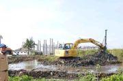 Antisipasi Banjir, Pemkot Jakut Bangun Waduk Rawa Malang