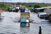 Jalan Trans Kalteng-Kalbar Banjir, Anggota DPRD Kobar Sarankan Dishub Alihkan Via Lamandau