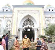 Bupati Muba DRA Yakini Masjid Raya Abdul Kadim Jadi Pusat Destinasi Religi Baru