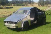 Tak Mampu Beli Tesla Cybertruk? Ini Replikanya Dijual Rp7,6 Juta