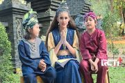 Keseruan Gabriella, Mujib, dan Delon di Lokasi Syuting
