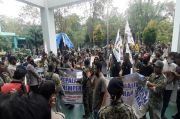 Hak Pembayaran Tak Diselesaikan, Warga Terdampak Proyek Tol Balikpapan-Samarinda Demo BPN