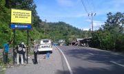 Tekan Laka, Polres Gowa Pasang Papan Bicara Bahasa Daerah di Area Rawan