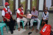 Peduli Pejuang Veteran, PMI Klungkung Bagi Sembako dan Tali Kasih