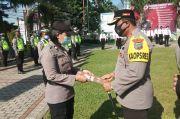 19 Personel Polres Bitung Terima Penghargaan Kapolres