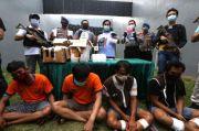 Tergiur Uang, Penjual Sate di Surabaya Jadi Kurir Narkoba