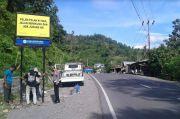 Tekan Kecelakaan, Sat Lantas Polres Gowa Pasang Papan Bicara di Area Rawan
