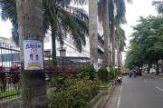 Stiker Kampanye Akhyar-Salman Menempel di Pohon, Panwas: Ini Merusak Estetika