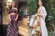 Inspirasi Mode: Contek Cara Bintang Bollywood Ini Memakai Celana Palazzo