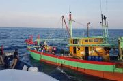 Maling Ikan di Perairan RI, KKP Tangkap 2 Kapal Ilegal Malaysia
