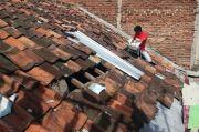 Puting Beliung Menerjang 3 Menit, Dampaknya Atap 26 Rumah Berantakan