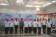 Bertemu Gubernur dan Jajaran Pemerintah Riau, Direktur Pertamina Hulu Rokan Beri Bantuan 200 Ribu Masker