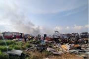 Kobaran Api Padam, 30 Bangkai Bus Transjakarta Hangus Terbakar