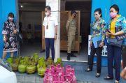 Gunakan LPG 3 Kg, Sejumlah Rumah Makan di Kota Bitung Dirazia