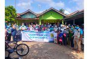 Sambil Gowes, PLN UP3 Bekasi Berikan Bantuan ke Ponpes Yatim Dhuafa Annur