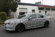 Honda Civic 2021 Ketahuan Tebar Pesona di Jalan Umum