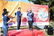 KBRI Tokyo Pecahkan Rekor MURI Ajak Warga Jepang Bersepeda dengan Berbatik