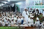 Habib Rizieq Selesai Ceramah, Jamaah Maulid Nabi FPI Membubarkan Diri