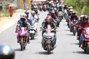 RAG-SS Touring Bersama Ratusan Rider, Sosialisasi Keselamatan Berlalu Lintas