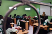 Viral, Aksi Kocak Anak-anak Yel yel Hayang Sakola