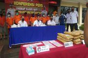Polisi Tangkap 8 Pengedar Narkoba, 121 Gram Sabu dan 37 Kg Ganja Disita