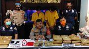 Dua Pengedar Ditangkap, 27 Paket Ganja Disita