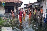 Banjir Rob Rendam Ratusan Rumah di Tegal Alur, Aktivitas Warga Lumpuh