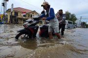 Banjir Rob Terjang Beberapa Wilayah di Jakarta Utara