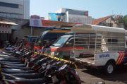 Puluhan Sepeda Motor Diamankan Polisi karena Dipakai Ugal-ugalan