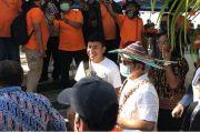 Billy Mambrasar Cerita Soal Kampung Halaman ke Menteri Suharso Monoarfa