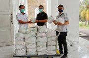 Melalui Kemensos, MNC Peduli Beri Bantuan Sembako dan Masker