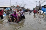 Lagi, Banjir Rob Terjang Permukiman Warga di Muara Karang