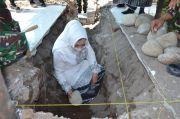 Pj Sekda Gowa Letakkan Batu Pertama Pembangunan Aula Kodim 1409