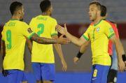 Pemain Buangan Barcelona Nikmati Gol Perdana bagi Brasil