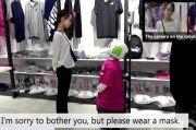 Jepang Pakai Robot untuk Ingatkan Pengunjung Toko Gunakan Masker
