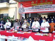 Polda Banten Ringkus 47 Tersangka Maling Motor, 214 Unit Diamankan