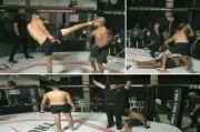 KO Kejam! 2 Kali KO, Wasit Biarkan Petarung MMA Dihajar Musuhnya