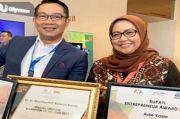 Bupati Bogor Positif COVID-19, Gubernur Jabar: Semangat Bu Ade!