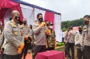 Kapolda Metro Jaya Nana Sudjana Pamitan saat Acara Ketahanan Pangan di Tangerang