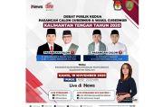 Live di iNews Kamis Pukul 19.30, Debat Pilgub Kalimantan Tengah