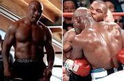 Wah Gawat, Mike Tyson Teror Gigit Kuping Evander Holyfield Lagi