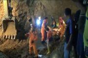 1 Penambang Batu Tewas Tertimbun Longsor, Evakuasi Berlangsung Dramatis