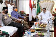 Ganjar dan Kapolda Silaturahmi ke Habib Luthfi, Ini Persoalan yang Dibahas