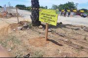 Jaringan Utilitas Hambat Pengerjaan Proyek Jalur Pedestrian Metro Tanjung