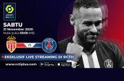 Jelang AS Monaco vs Paris Saint-Germain: Berharap Tuah Neymar