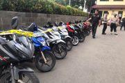 Polrestro Jakarta Barat Gagalkan Penjualan Motor Curian, Sita Sepuluh Motor
