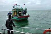 Kapal Ikan Berbendera Malaysia Diringkus KKP di Selat Malaka