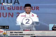 Tampil Sendiri, Edy Pratowo Ungguli Ben-Ujang Dalam Debat Kedua